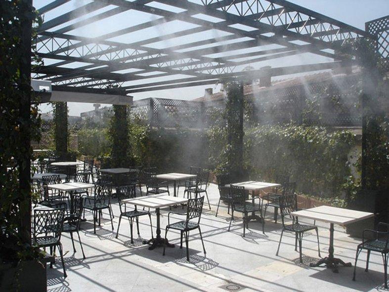 Terrazas para hosteleria terrazing sistemas de - Estufas exteriores para terrazas ...