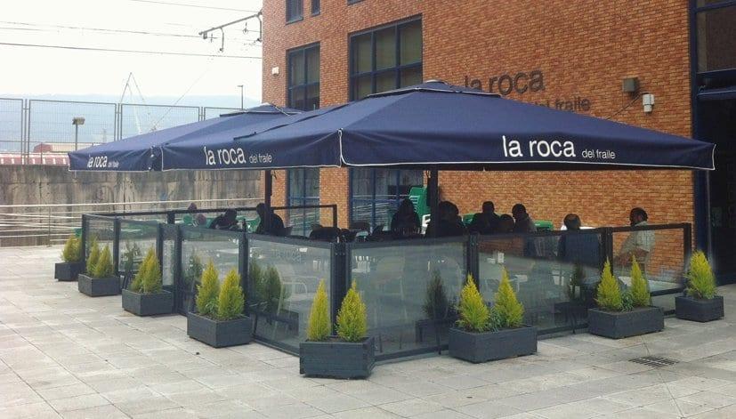 Terrazas para hosteleria terrazing terraza climatizada for Nebulizadores para terrazas de bares